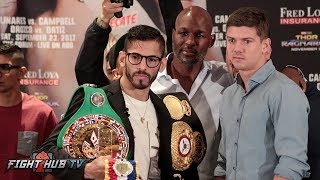 JORGE LINARES VS. LUKE CAMPELL FULL FINAL PRESS CONFERENCE VIDEO