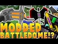 Minecraft OP WEAPONS AND GRAVITY GUNS MODDED BATTLEDOME CHALLENGE - Minecraft Mod
