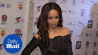 Glamorous Sarah-Jane Crawford put on a flawless display