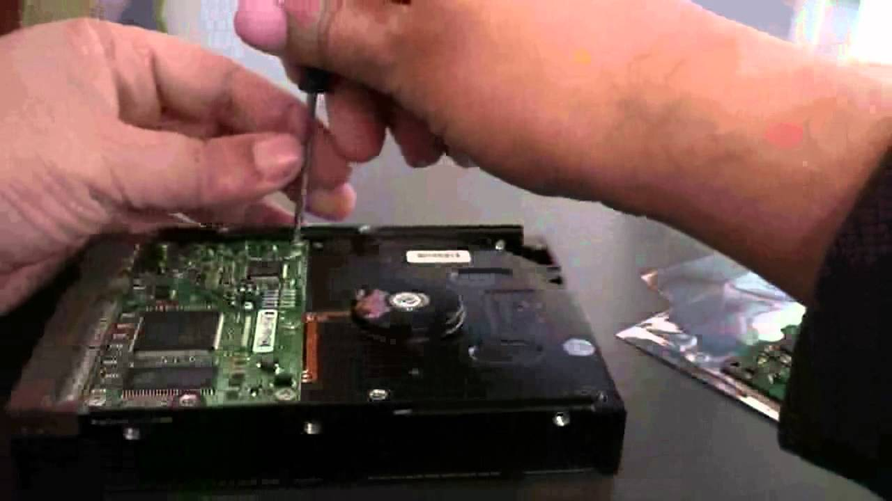 How to Repair a Smoking or Fried Hard Drive  YouTube