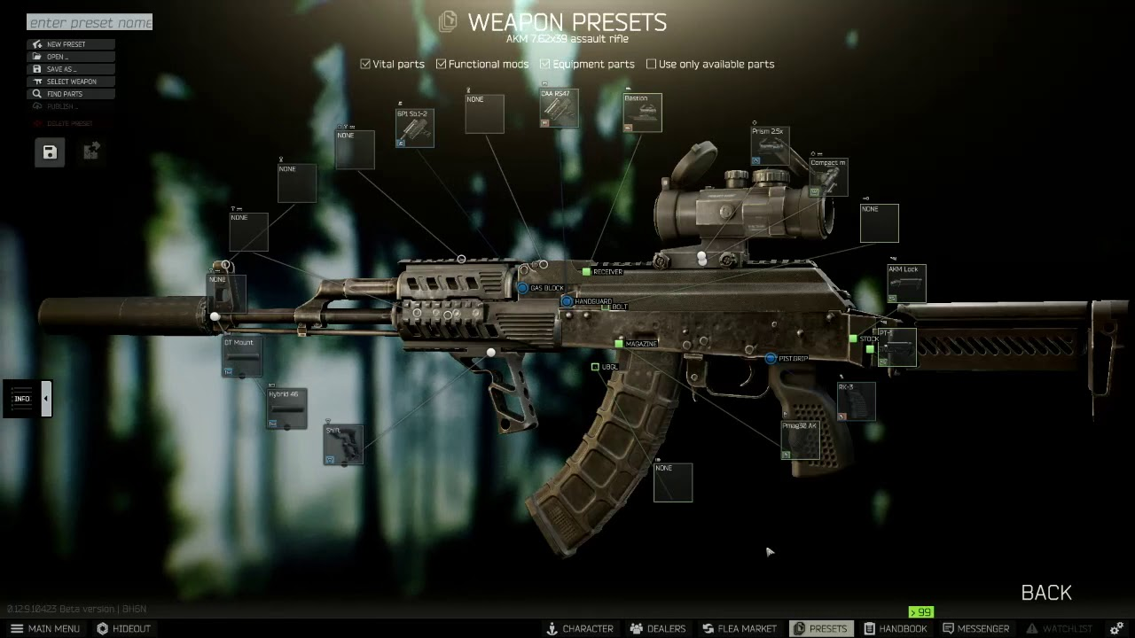 Updated New Gunsmith Part 8 0 12 9 Escape From Tarkov Mechanic Quest Youtube Manufactured by jalastar aerospace from their plant on panpour, the gunsmith entered service shortly before the blackout. updated new gunsmith part 8 0 12 9 escape from tarkov mechanic quest