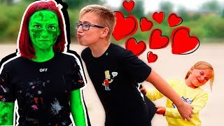 Rosta fell in LOVE with a ZOMBIE? - The sketch We are a family Zombie Apocalypse Part 4