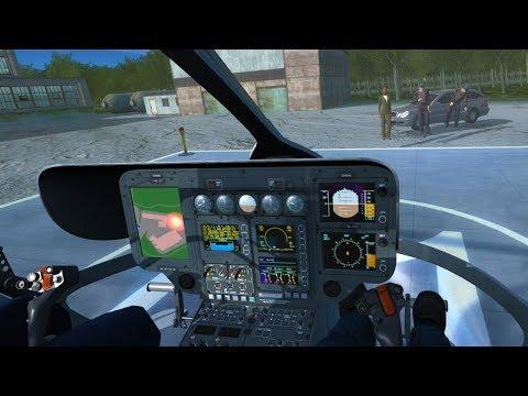 Police Helicopter Simulator #3 - Politician Escort  