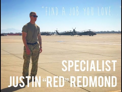 "Army Reserve Stories - SPC Justin ""Red"" Redmond"