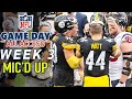 """NFL Week 3 Mic'd Up! """"You can't play with 12 Greg!"""" 