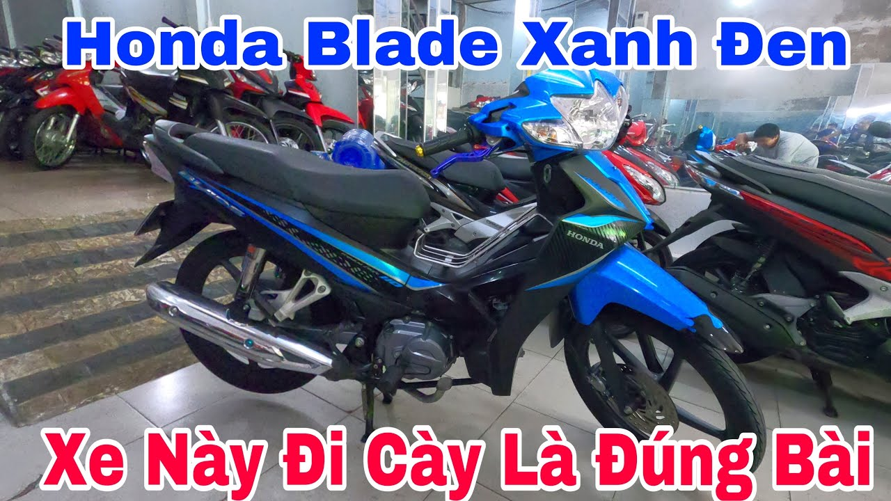 Xe Honda Blade Xanh Bánh Mâm Xe Này Chạy Đi Cày Là Đúng Bài (đã bán)