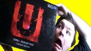 Wii U Zombi U Premium Pack Unboxing