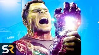 What Hulk Saw When He Used The Infinity Stones In Endgame