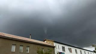 Мини смерч в Одессе. Mini tornado in Odessa. 23.09.2017