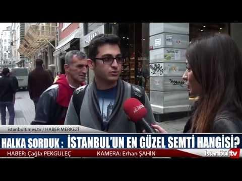 Vatandaşa sorduk: İstanbul'un sizce en güzel semti hangisi ?