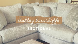 New Living Room Sectional | ASHLEY RAWCLIFFE 3-PIECE SECTIONAL
