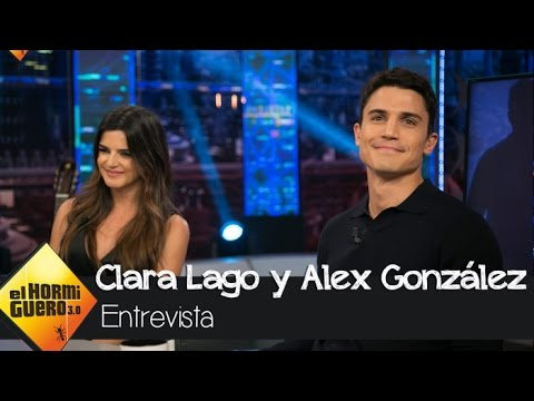 Álex González elogia a Clara Lago tras someterse a un duro entrenamiento - El Hormiguero 3.0