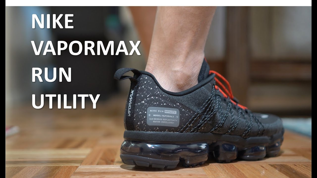 Nike Vapormax Run Utility - Review Onfeet - YouTube 284930adef71
