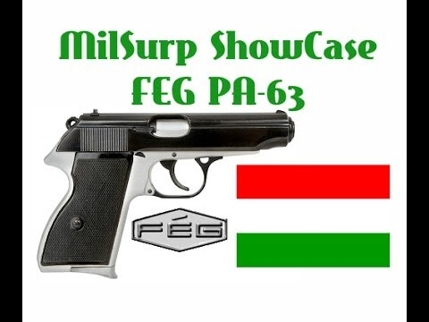Hungarian feg pa 63 field strip when black