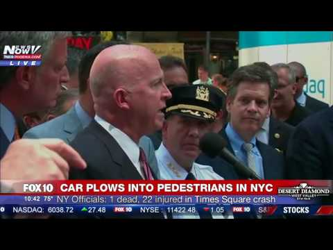PRESS CONFERENCE: NY Officials Discuss DEADLY Times Square Crash, ID Driver as Richard Rojas (FNN)