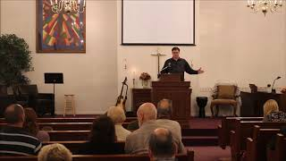 Mark 10:1-12 Divorce Pastor Wesley Skiles Olive Branch Church Nov 5 2017