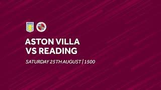 Aston Villa 1-1 Reading | Extended highlights