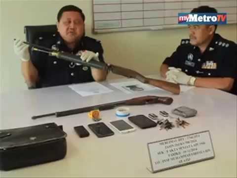 Lelaki miliki senapang angin ditahan