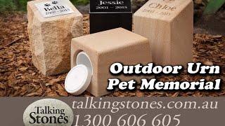 Pet memorial Urn, Pet Urn