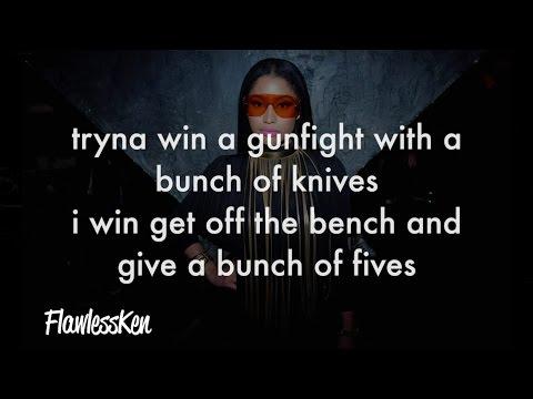 Nicki Minaj - Make Love (Verse - Lyrics)