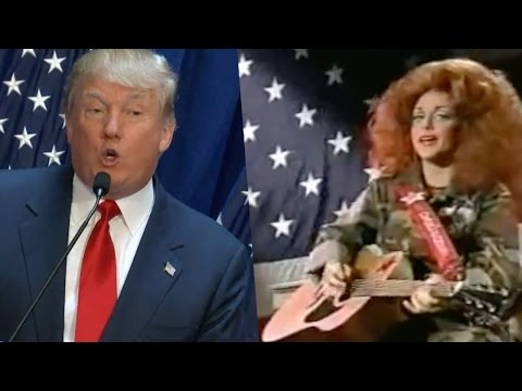 Taking back America and make it great again with Donald Trump and Darlene Mcbride