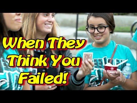 When Girls Think You FAILED a Magic Trick!