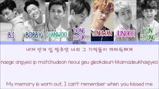 [3.46 MB] iKON - I Miss You So Bad (아니라고) [Eng/Rom/Han] Picture + Color Coded HD