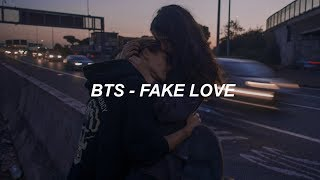BTS 방탄소년단 39 FAKE LOVE 39 Easy Lyrics