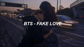 BTS (방탄소년단) 'FAKE LOVE' Easy Lyrics