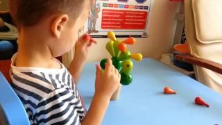 I&k Plan Toys Balancing Cactus