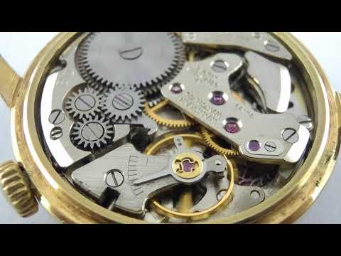 Waltham alarm date watch movement cal.BD running.