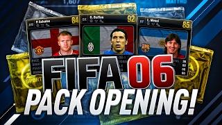 FIFA 06 RETRO PACKS!!