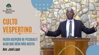 Culto Vespertino (23/08/2020) - Igreja Presbiteriana Itatiaia