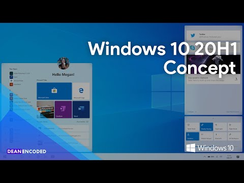 Windows 10 20H1 (May 2020 Update) Concept