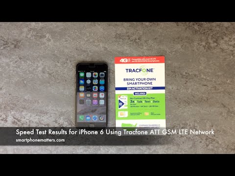 speed test iphone speed test results for iphone 6 using tracfone att gsm lte 13018
