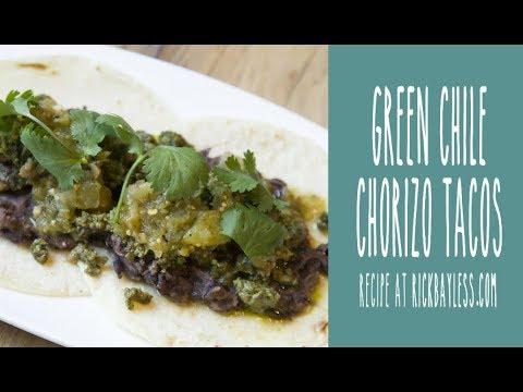 Taco Tuesday: Green Chile Chorizo Tacos