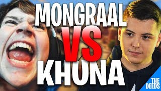 Mongraal Secreto 1 VS 1 Atlantis Khuna Aspectos destacados de Fortnite