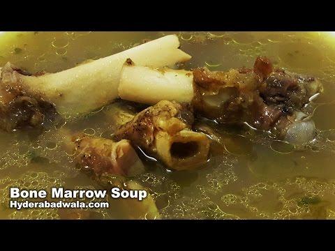 Bone Marrow Soup Recipe Video - How to Make Nalliyon Ka Soup at Home - Easy & Simple