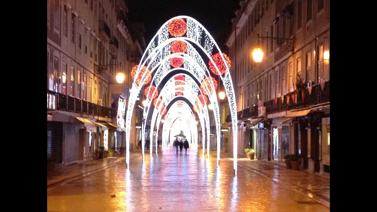 iluminaes de natal 2013 christmas lights lisbon portugal - Christmas In Portugal