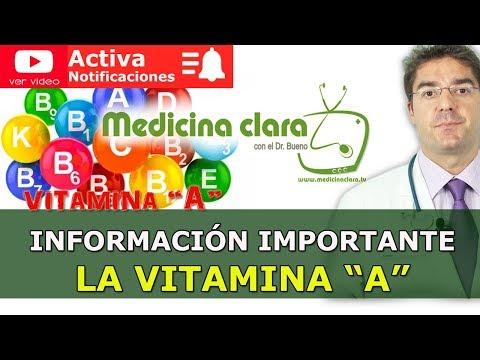 Vitamina A ¿Qué ocurre si nos falta vitamina A? | Medicina Clara.