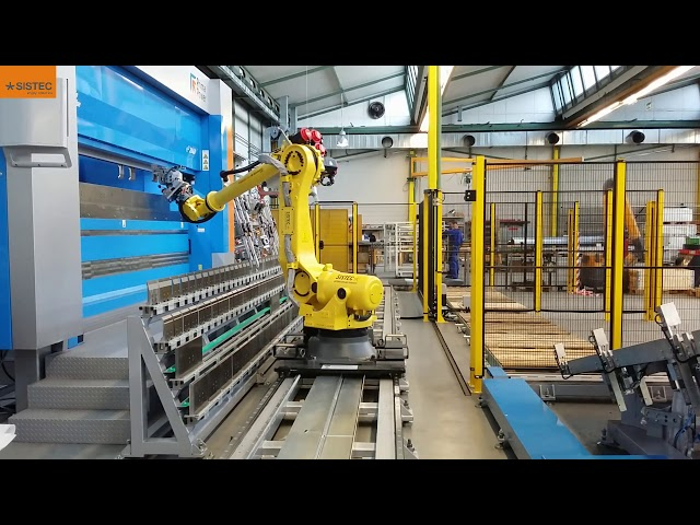 Cella robotizzata di piegatura  - Robotic bending cell