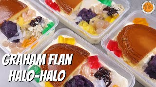 TRENDING GRAHAM FLAN HALO-HALO RECIPE | Mortar and Pastry