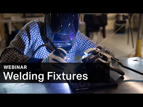 Watch this Markforged webinar showing welding fixture implementation examples.