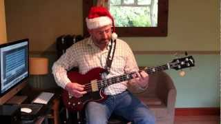 Merry Christmas Everybody Slade Gibson SG Bass Cover