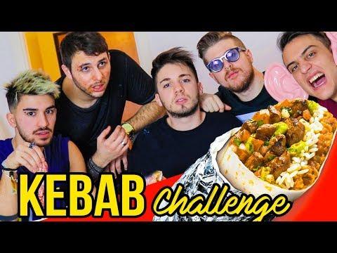 KEBAB CHALLENGE 🌯 ft. Ame, Dose e Paciello | Matt & Bise
