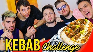 KEBAB CHALLENGE 🌯 Ft. Ame Dose E Paciello  Matt And Bise