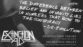 Extinction A.D. - De-Evolution Theory [OFFICIAL STREAM]