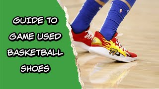 Game Used Basketball Shoes - Your Full Guide To Buying and Investing