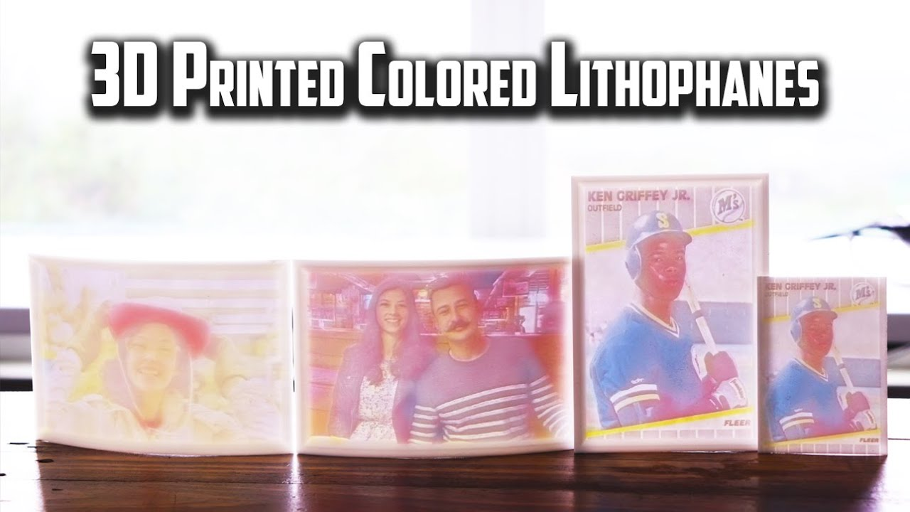 Making Colored Lithophanes