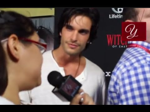 Witches of East End  Daniel diTomasso  at San Diego ComicCon 2014